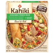 Kahiki Bowl & Roll Chicken Fried Rice with Vegetable Egg Roll, 12oz