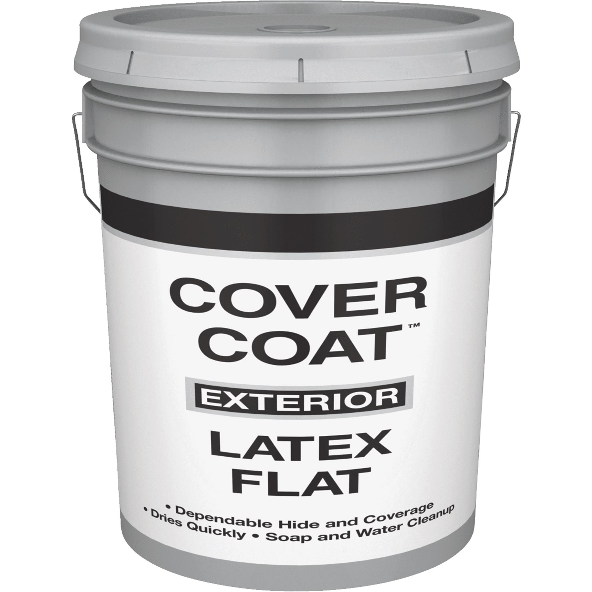 Cover Coat Latex Flat Exterior House Paint