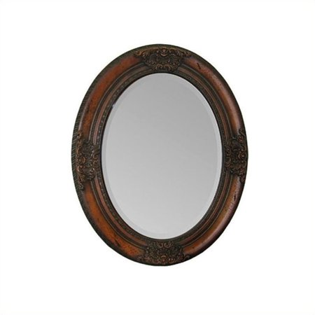 Hawthorne Collection Cherry Mirror in Cherry Wood
