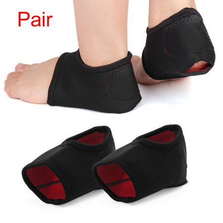 Plantar Fasciitis Heel Support Wrap Pain Relief Anti-crack Sleeve Cushion