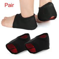 Plantar Fasciitis Heel Support Wrap Pain Relief Anti-crack Sleeve Cushion