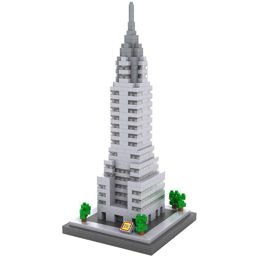 Chrysler Building Diamond Block Set by 88 Unlimited