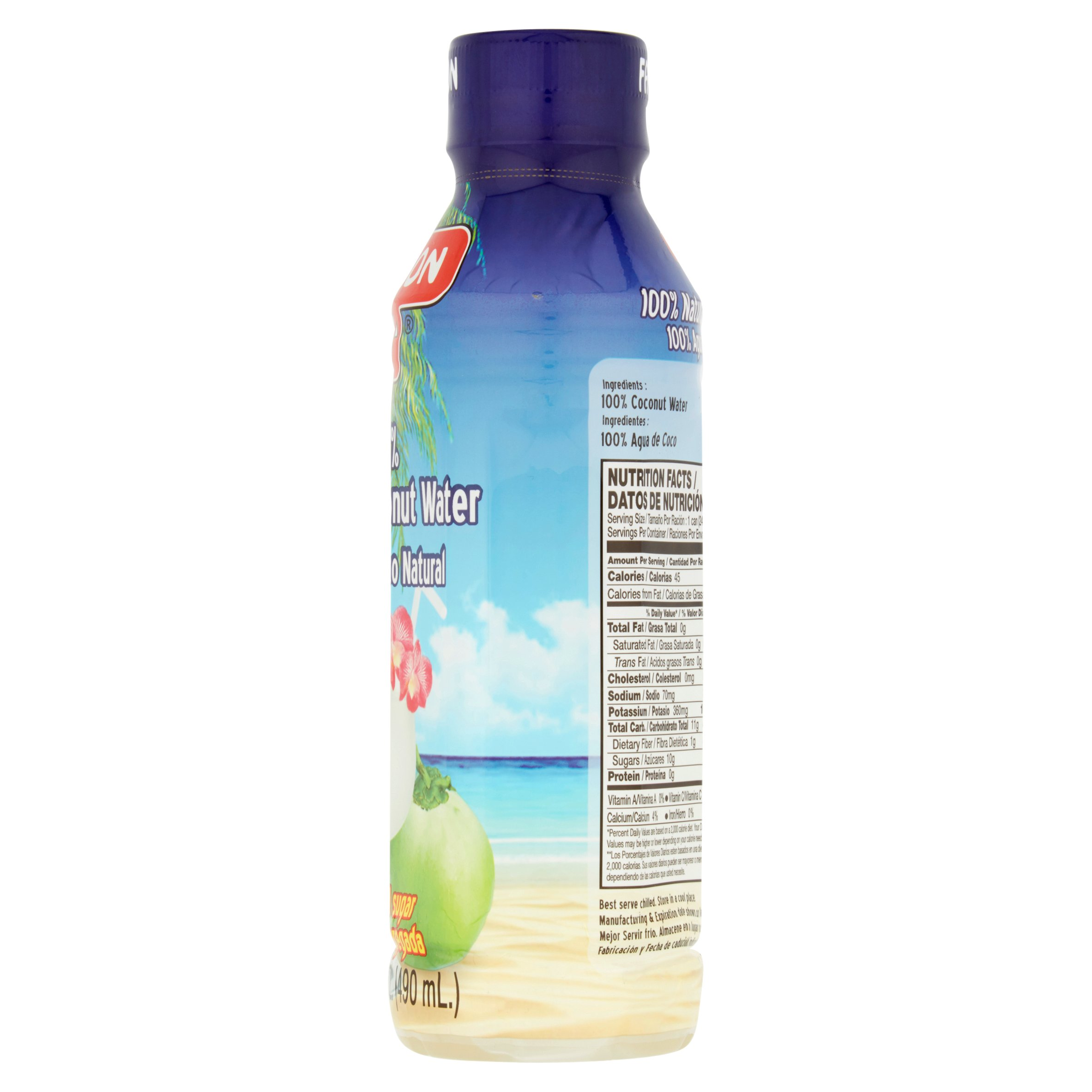 Faraon 100 Natural Coconut Water 165 Fl Oz