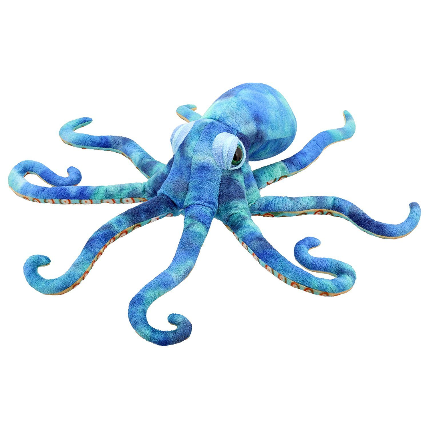 Octopus Puppet 38 inch Stuffed Animal by Puppet Company (009704) by Puppet Company