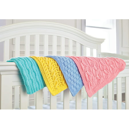 Mary Maxim Knit Car Seat Blankets ()