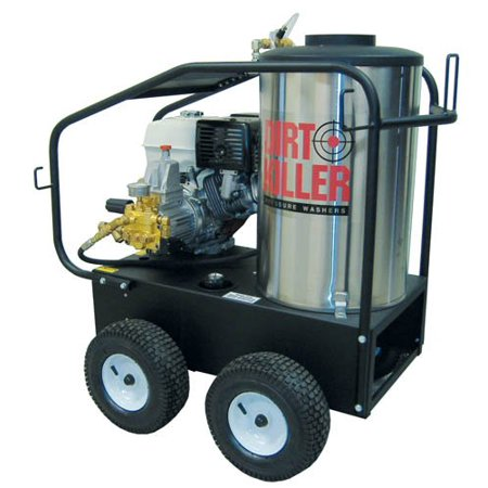Series 3500 Psi Hot Water (Dirt Killer H3612 Hot Water Gas Industrial Pressure Washer with 50' Wire Braided Hose, 3500 PSI, 4.2 GPM, 13 HP, Steel Frame, Stainless Coil Wrap)