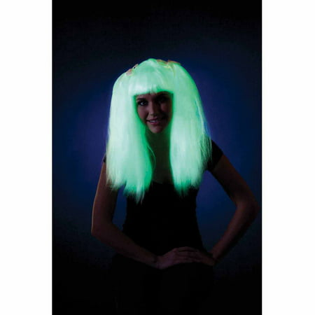 Glow-In-The-Dark Pigtails Halloween Accessory - Halloween Pigtails