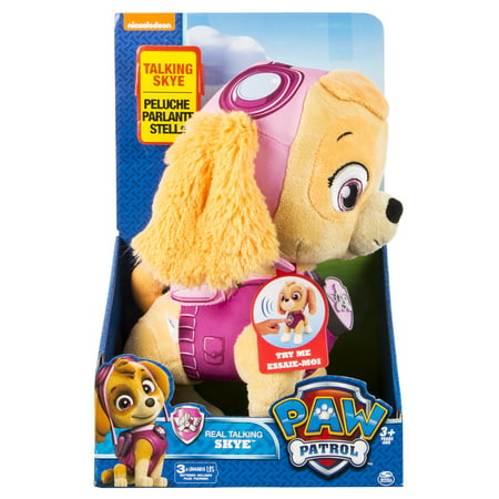 Paw Patrol  Real Talking Skye Plush