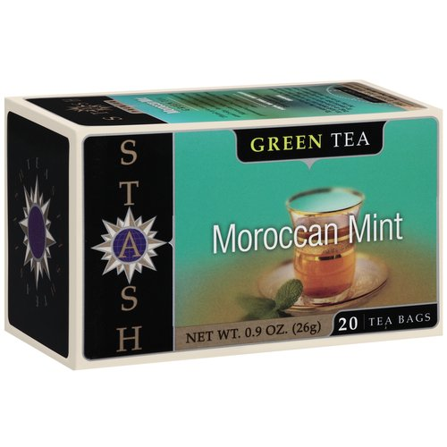 Stash Moroccan Mint Green Tea Bags, 20 count, 0.9 oz