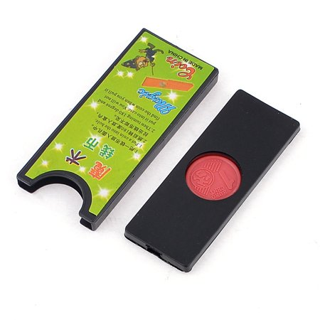 Clowns Stage Magic Trick Black Red Plastic Coin Tunnel Toy