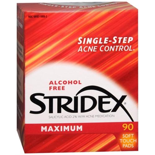 Stri-Dex Daily Care Maximum Pads 90 Each (Pack of 2)