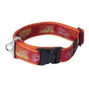 Rogz HB04-BQ Dogz Fancydress Side Release Collar Special Agent - Extra Large, Tango Paw