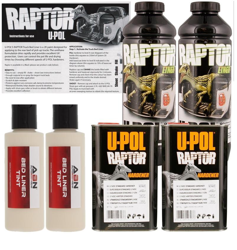 U-POL Raptor Beige Spray-On Truck Bed Liner, 2 Liters Upol