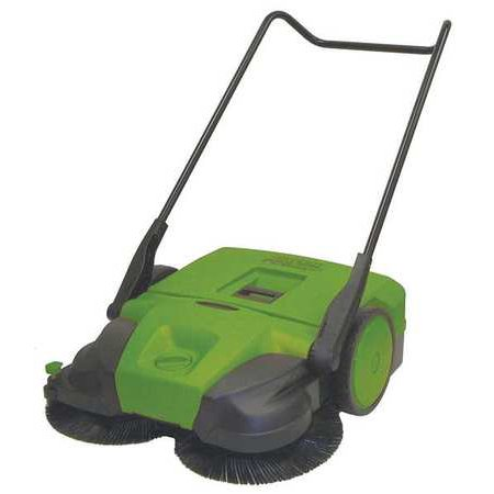 Bissell Commercial Bg497 Push Sweeper 38 In W 13 2 Gal Walkbehind G1872048
