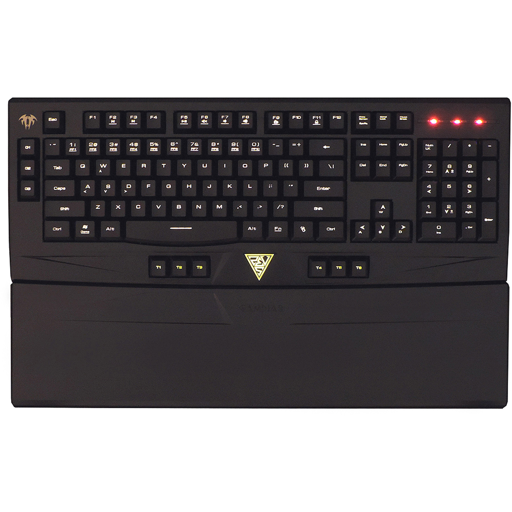 Kworld GAMDIAS ARES Gaming Keyboard, GKB6010