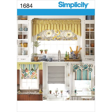 Roman Decor (Simplicity Crafts Home Decor Roman Shades and)