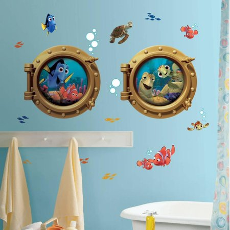 Finding Nemo Peel & Stick Giant Wall Decal Sticker - 18x40