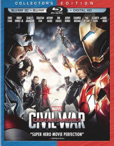 Captain America: Civil War (Collector's Edition) (Blu-ray 3D + Blu-ray + Digital HD) by Buena Vista