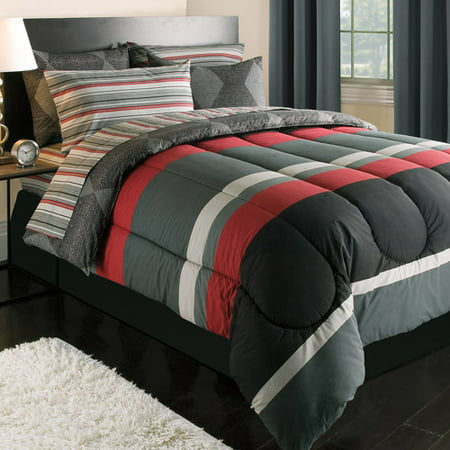 Rugby Reversible Bed In A Bag Walmart Com