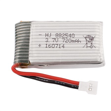 3.7V 720mAh Rechargeable Lithium Li-po Battery for Syma X5 X5C RC Helicopter - image 3 of 4