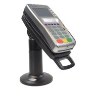"Stand for Verifone VX805, VX820 Credit Card Terminal - 7"" Tall with Latch & Lock - Tilts 140 degree and swivels 330 degree"