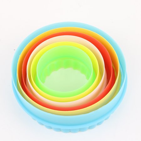 Colorful Multi-shape Plastic Mold Cookie Biscuit Cutter Mould Pastry Maker Tools - image 6 of 8