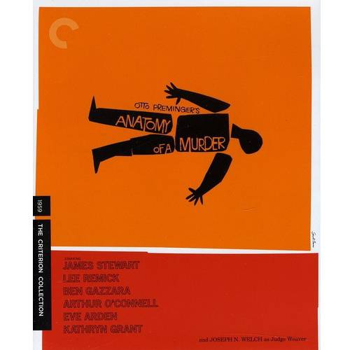 Anatomy Of A Murder (1959) (Criterion Collection) (Blu-ray) (Widescreen)