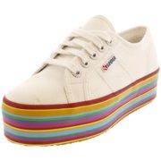 Superga 2790 Multicolor Cotw White Multi Ankle-High Fabric Sneaker - 8.5M / 7M