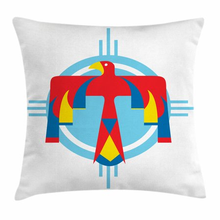 Southwestern Throw Pillow Cushion Cover Native American Mysterious