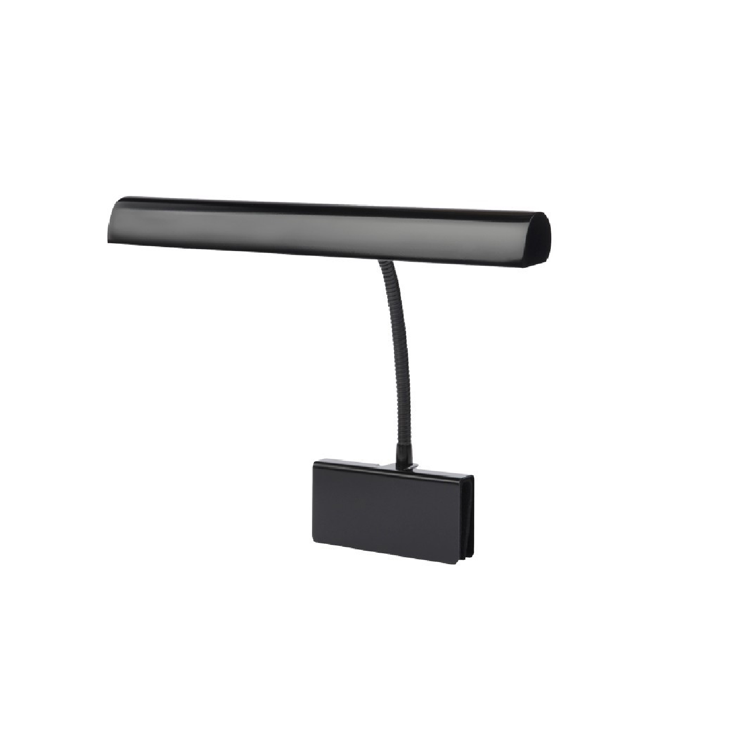 "14"" Gooseneck LED Grand Piano Lamp With Dimmer Black by Cocoweb"
