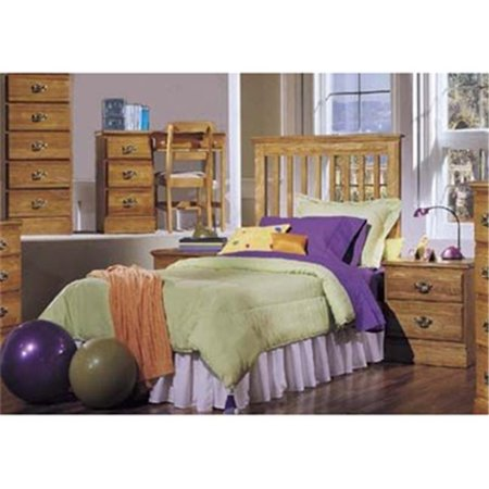 Carolina Furniture Works 237430 Headboard - Slat 3-3 - Golden Oak ()