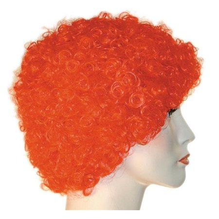Morris Costumes LW191BGR Curly Clown KK Bright Green Ka Wig Costume - Green Clown Wig