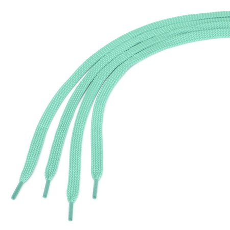 2 Pairs Double Layer Hollow Shoestrings Thick Flat ShoelacesUnisex Green 160cm - image 2 of 4