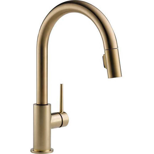 Delta Trinsic Kitchen Faucet with Pull-Down Spray, Available in Various Colors