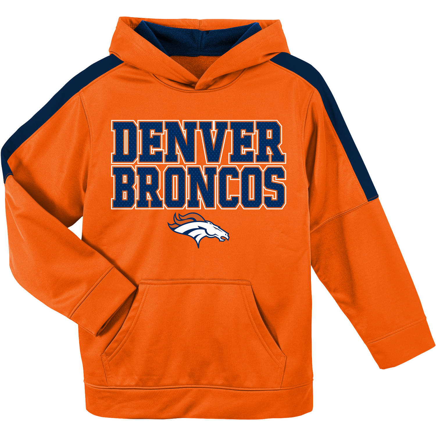 NFL Denver Broncos Youth Hooded Fleece Top