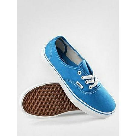 6aa5aa78d212 Vans Authentic Blue True White Men s Skate Shoes Size 9.5 - Walmart.com