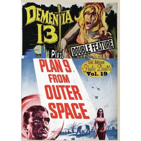 Dementia 13/Plan 9 From Outer Space (DVD) - Killer Clowns From Outer Space