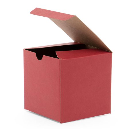 Red Kraft Gift Box 4