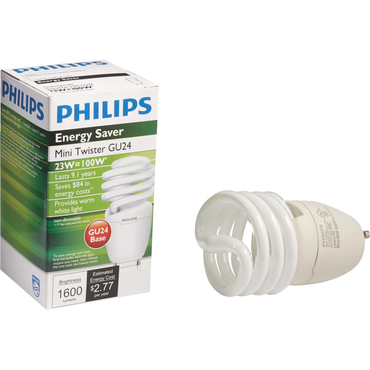Philips Lighting Co 23w Gu24 Ww Cfl