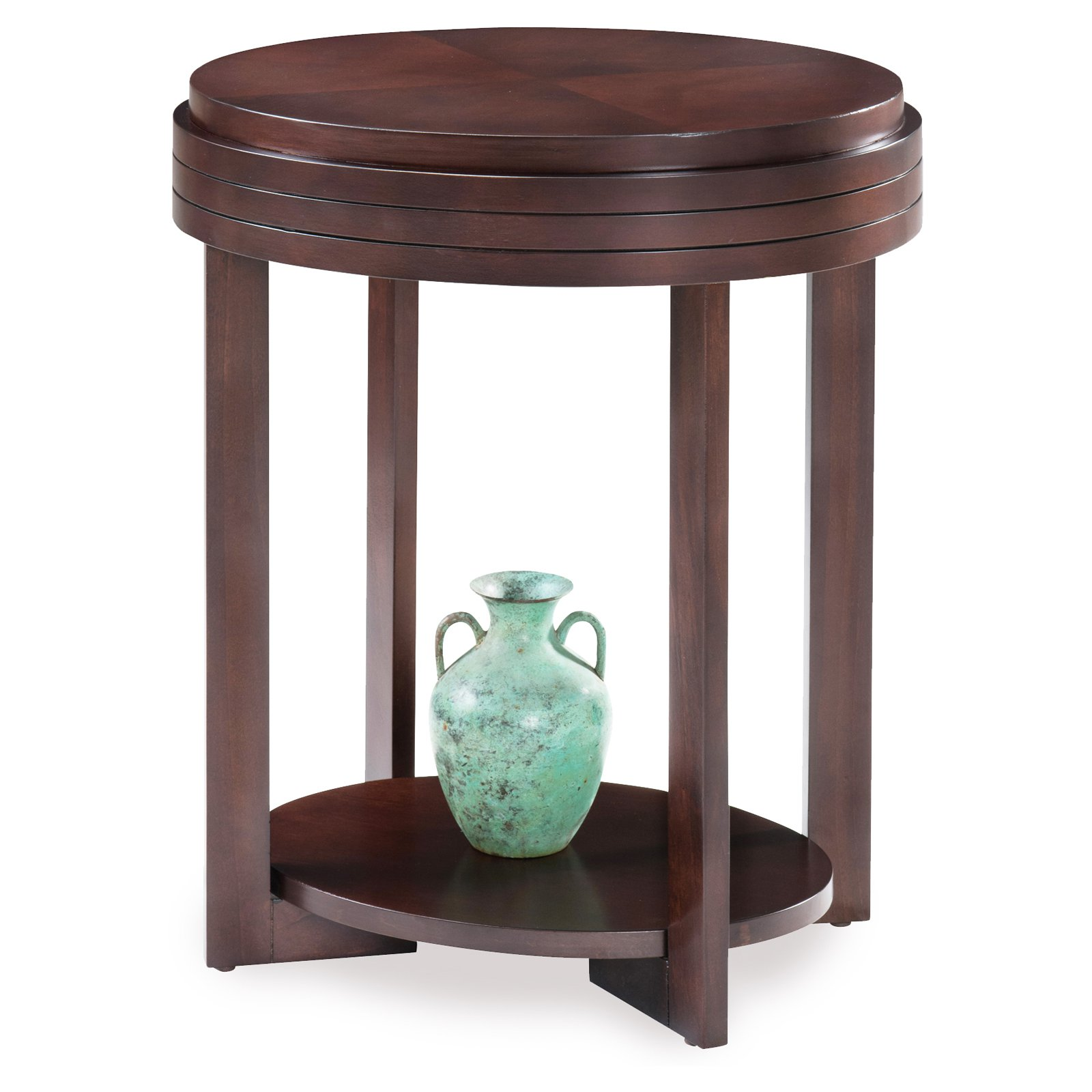 Leick Home Oval End Table