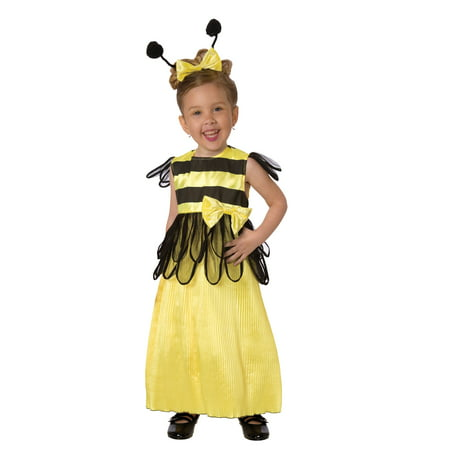 Living Fiction Honey Bee Complete 3pc Toddler Costume, Yellow Black
