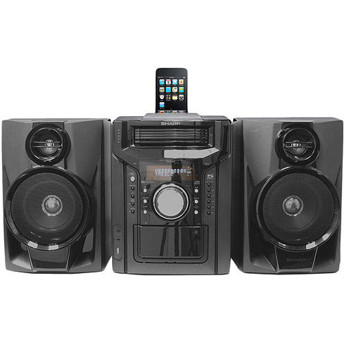 Sharp CD-DH950P iPhone and iPod Dock Mini System, Refurbished