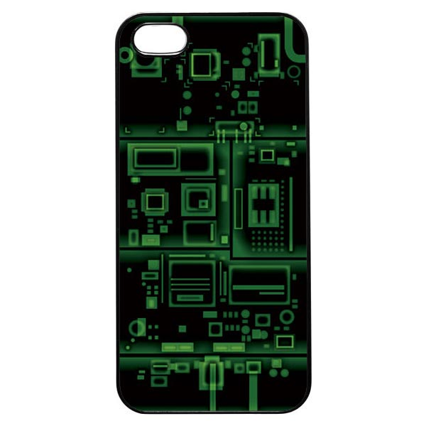 Xray Case Green Layers iphone 5 Case