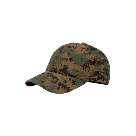 Top Headwear Enzyme Washed Camouflage Cap
