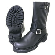 """Best BMW Motorcycle Boots - Men's Engineer Boots Motorcycle 12"""" Leather Biker Review"""