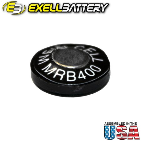 Exell MRB400 1.35V Zinc Air Battery Z400PX PX400 EPX400
