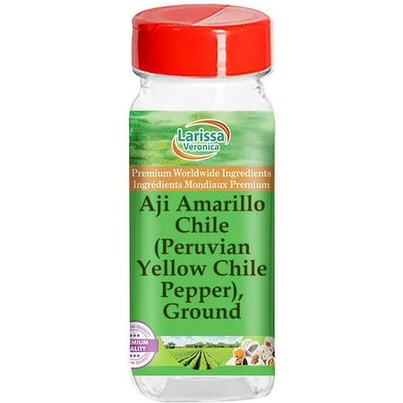 Aji Amarillo Chile (Peruvian Yellow Chile Pepper), Ground (1 oz, ZIN: 526845)