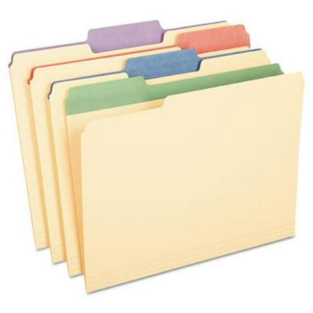 - Pendaflex Colored Tab Manila File Folders - 0.75