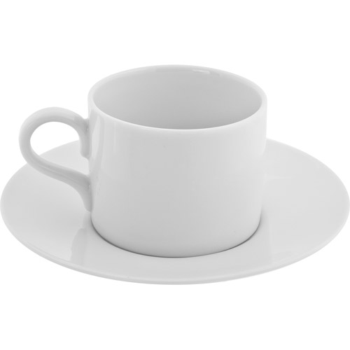10 Strawberry Street Espresso Cups and Saucers, Set of 6 by 10 Strawberry Street