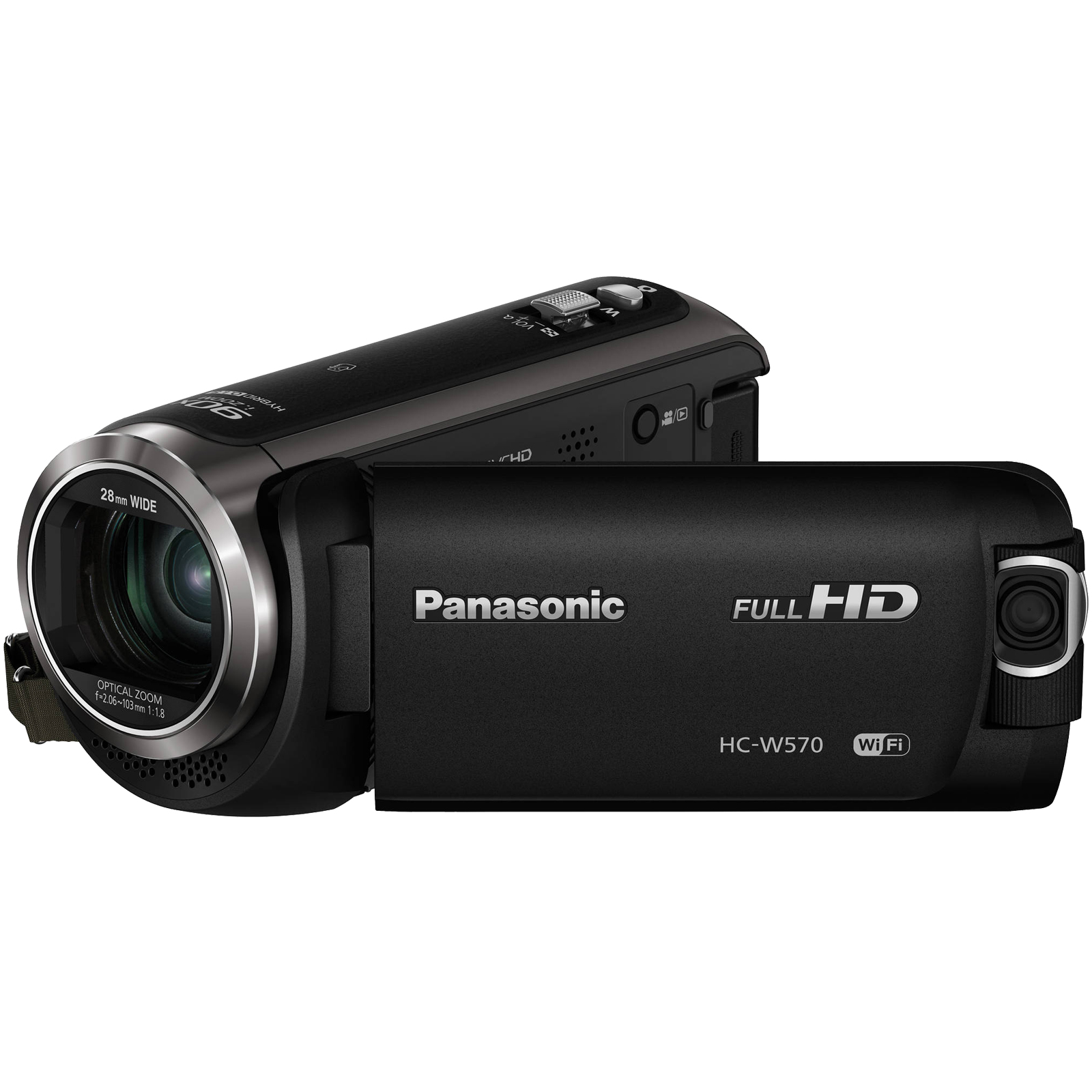 Panasonic HC-W570 Twin Recording HD Wi-Fi Video Camera Camcorder Twin Features: Picture-in Picture Full-motion Recording